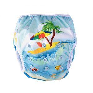 Wasbare zwemluier zomer